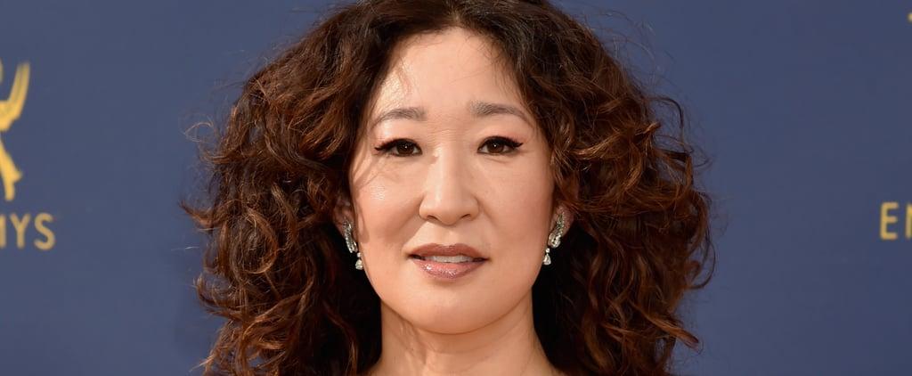 ساندرا أوه في حفل جوائز الإيمي لعام 2018