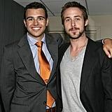 He even looks good next to Ryan Gosling.