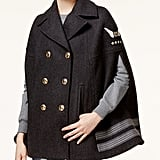 Tommy Hilfiger TOMMYXGIGI Wool-Blend Military Cape ($395)
