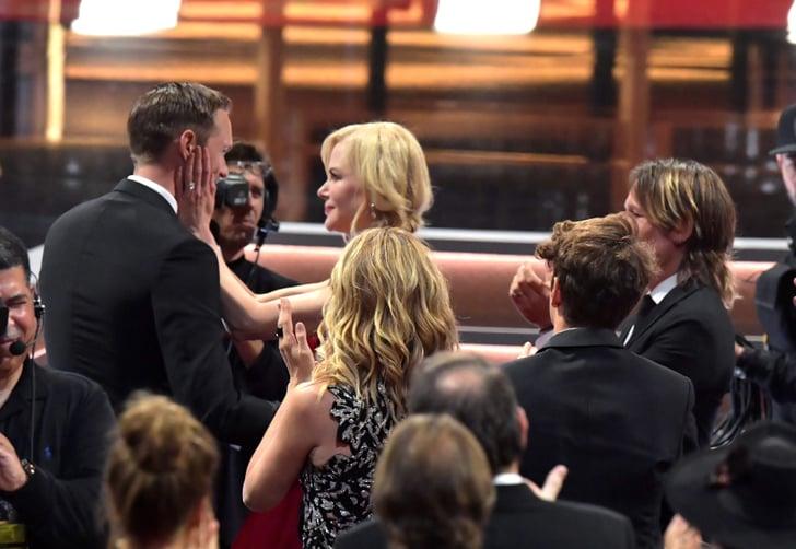Emmys 2017 Keith Urban Ok With Nicole Kidman Alexander: Nicole Kidman Kissing Alexander Skarsgard At The 2017