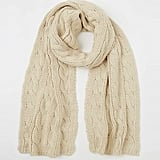 Made in Mada Torsade Knit Scarf ($70)