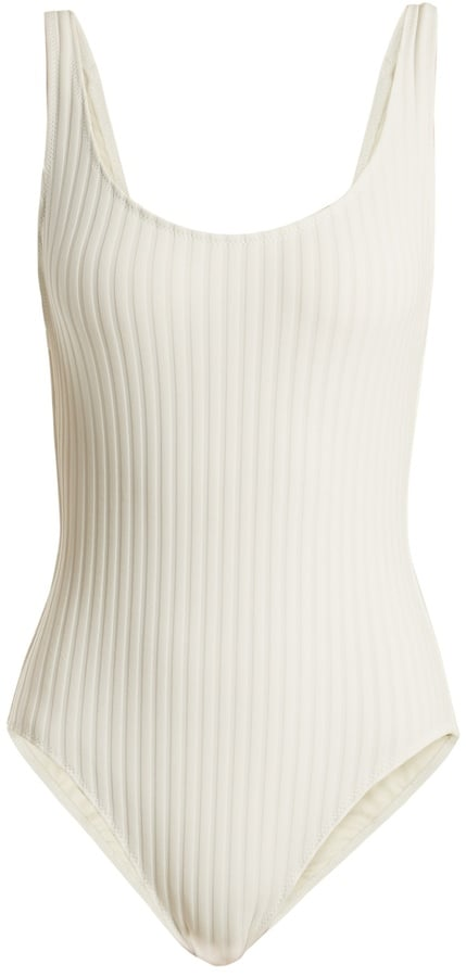 Solid & Striped The Anne-Marie Ribbed Swimsuit