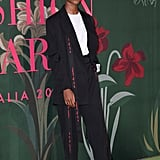 Letitia Wright at The Green Carpet Fashion Awards 2019