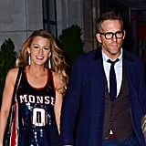 Blake Lively and Ryan Reynolds in NYC October 2017