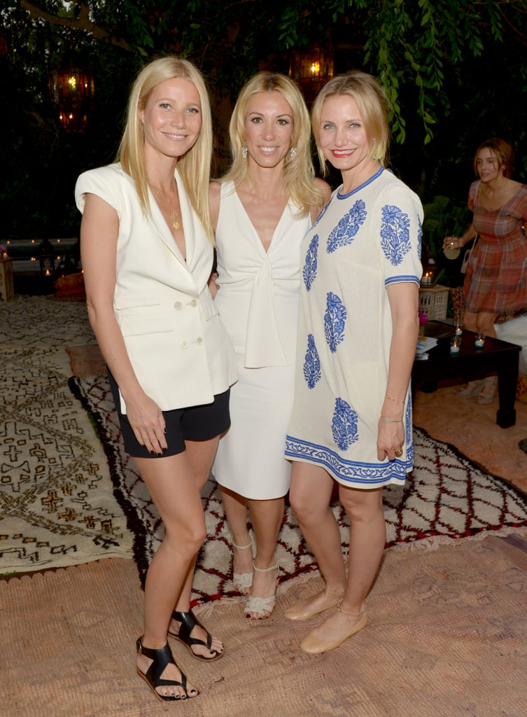 Gwyneth Paltrow, Vicky Vlachonis, and Cameron Diaz
