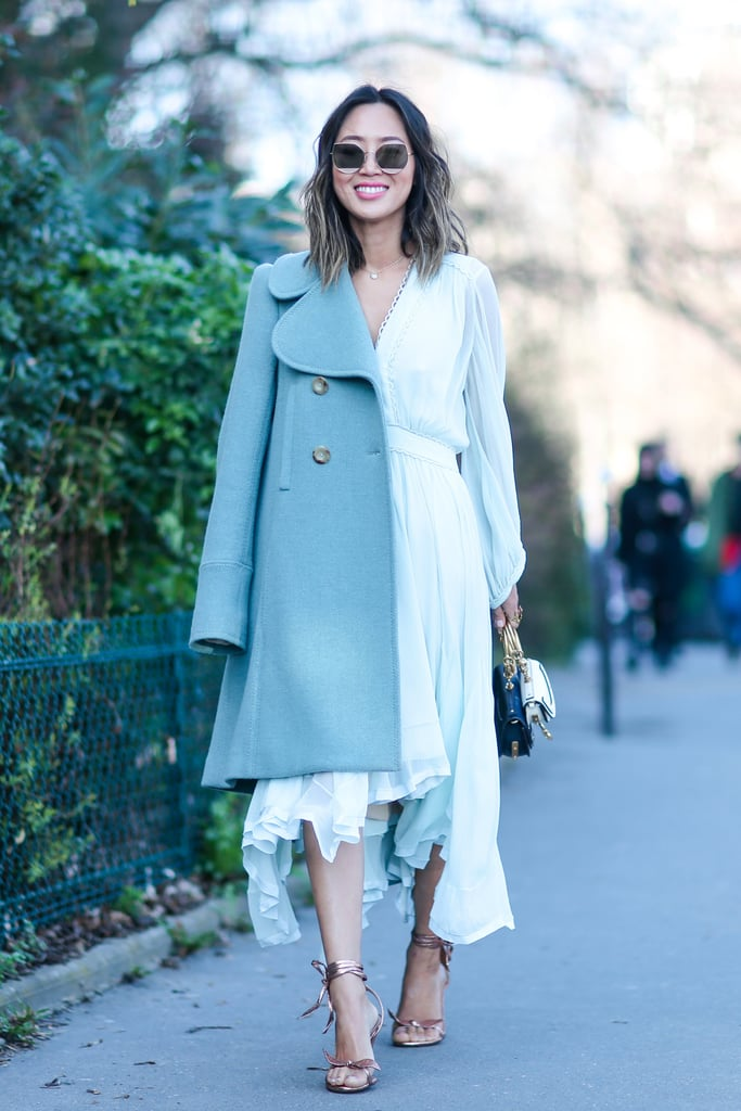 Colourful Coats Street Style Inspiration