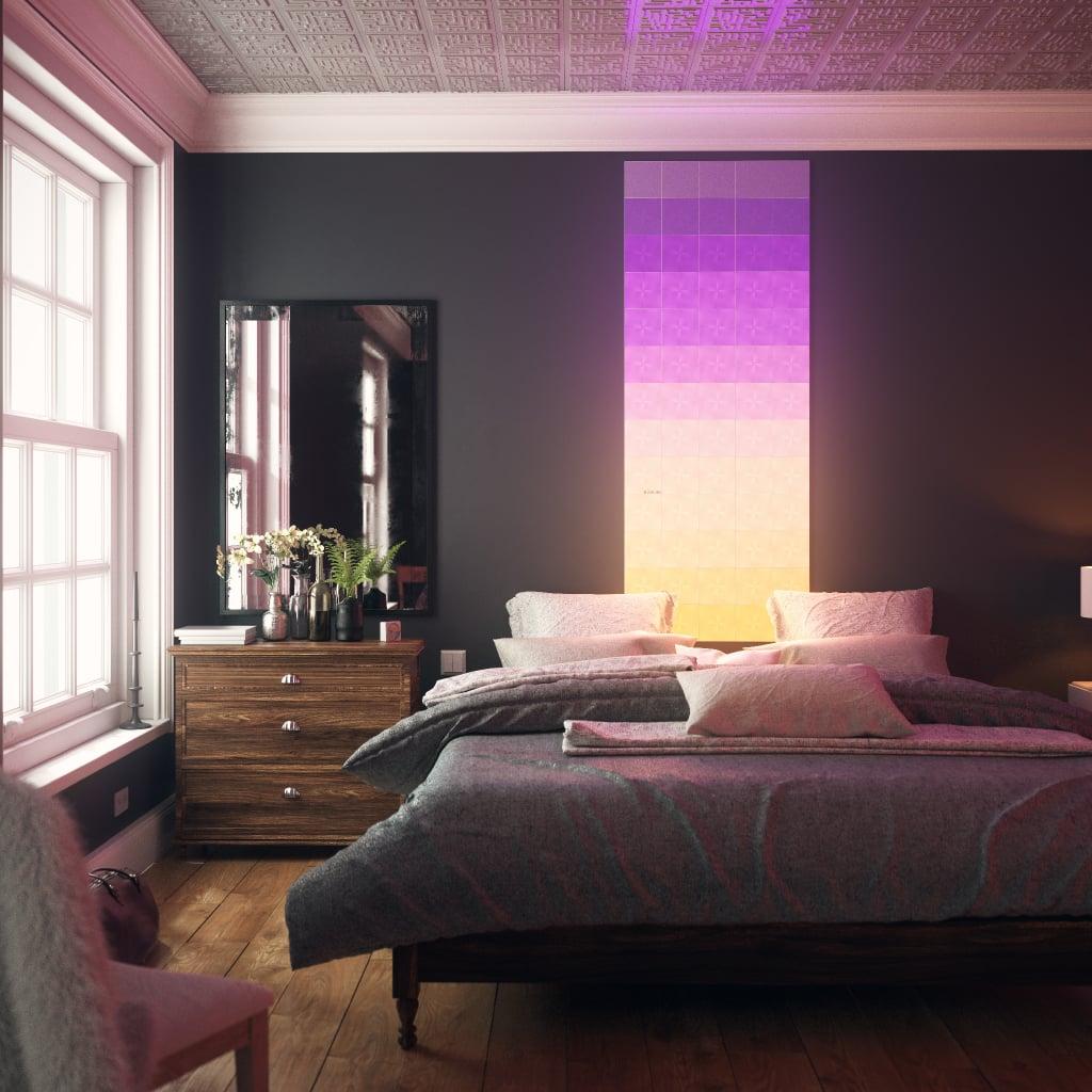 Nanoleaf Canvas — Bedroom