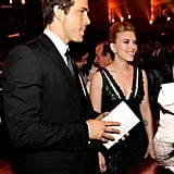 Ryan Reynolds and Scarlett Johansson married in September 2008 in a quiet ceremony, but in December 2010, the couple announced they were separating. Ryan went on to marry his Green Lantern co-star Blake Lively.