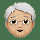 An old genderless emoji.