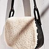 Ecote Shearling Saddle Bag