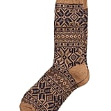 Fair Isle Wool-Blend Sock
