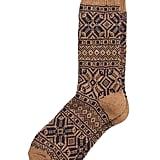 Fair Isle Wool-Blend Sock