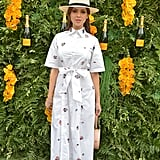 Topping of Her LWD With a Straw Hat