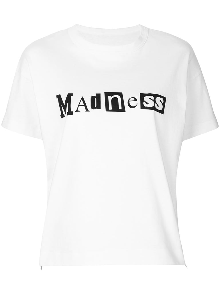 Sacai Madness Slogan T-Shirt