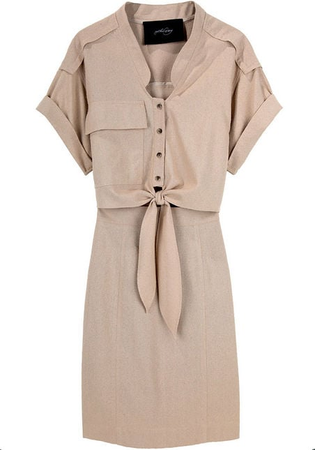 We love the sweet tie-front detail and subtle texture. Rachel Comey Picnic Dress, $298