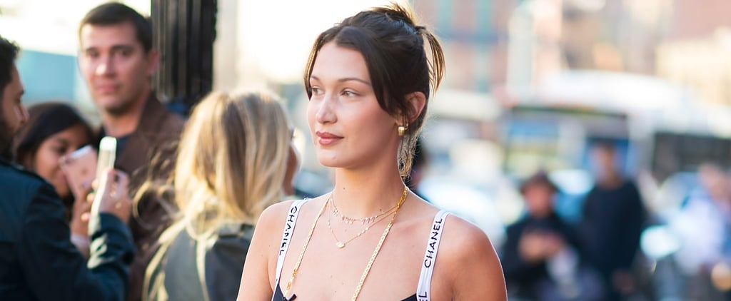 Bella Hadid Chanel One-Piece Swimsuit