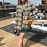 Brittany Snow at the Jonathan Simkhai New York Fashion Week Show