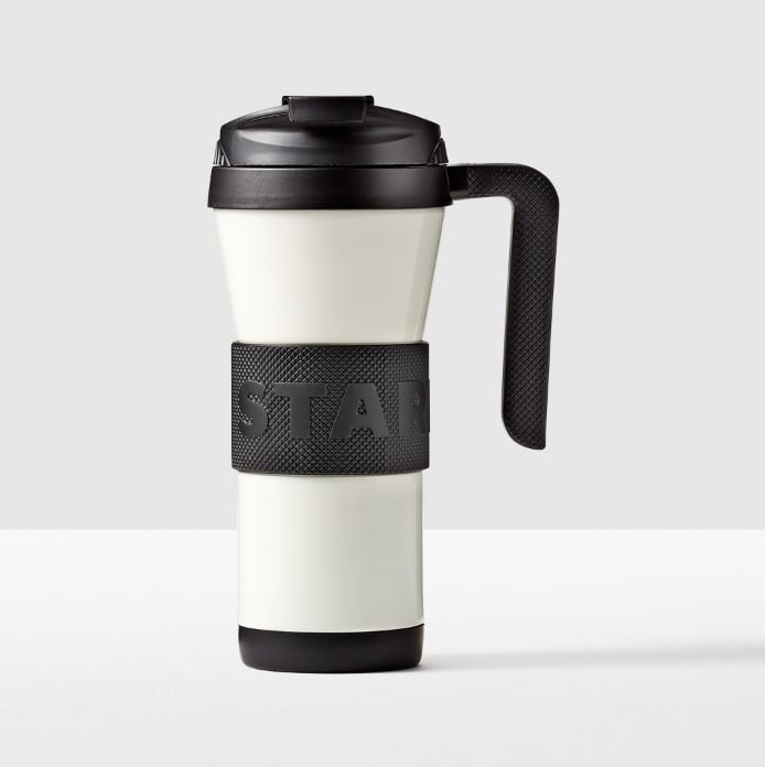 d83caed7128 Stainless Steel Grip Tumbler With Handle ($16, originally $23 ...