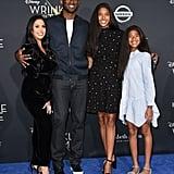 Pictured: Vanessa, Kobe, Natalia, and Gianna Bryant