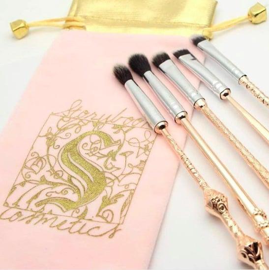 Rose Gold Magic Wand Makeup Brushes