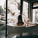 Take a bath.