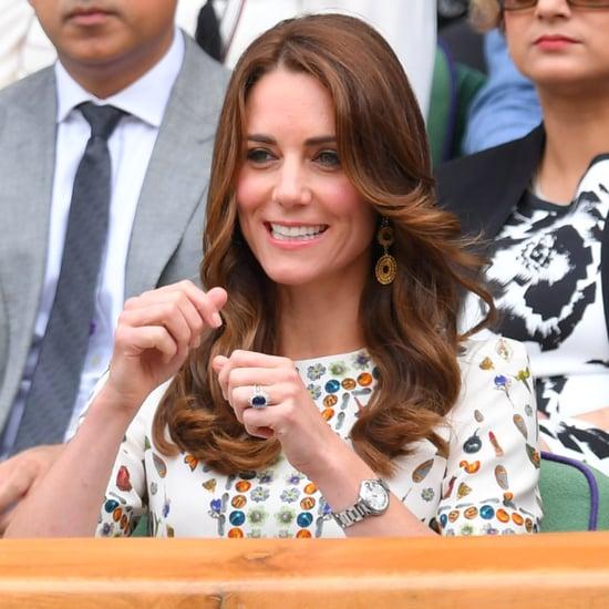 Duchess Cambridge's Alexander McQueen Dress Wimbledon 2016