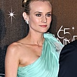 Diane Kruger posed at the opening night dinner of the Cannes Film Festival.