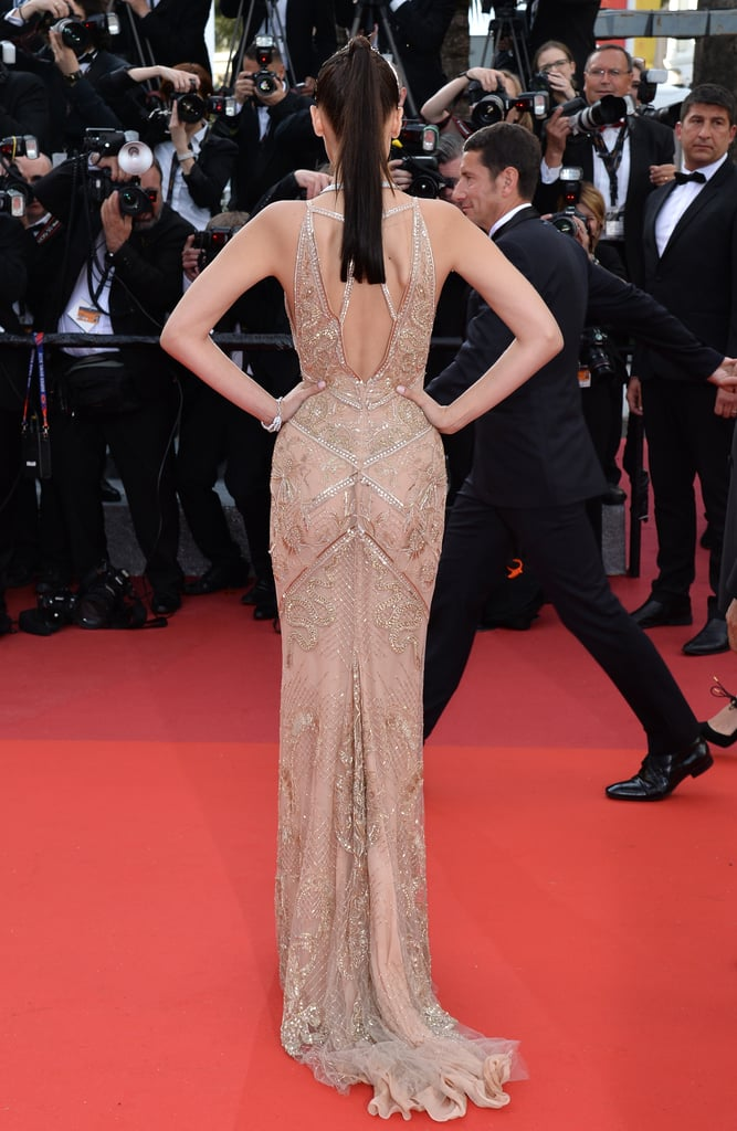 Bella Hadid's Roberto Cavalli Gown at Cannes Opening Gala