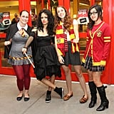 Witchy fans, including bad gal Bellatrix Lestrange, get ready for Harry Potter and the Deathly Hallows Part 2 in NYC.