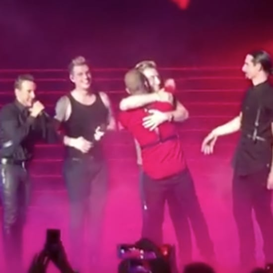 Lance Bass on Stage With Backstreet Boys March 2017
