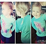 Hattie McDermott sported braids for the very first time. Source: Instagram user torianddean