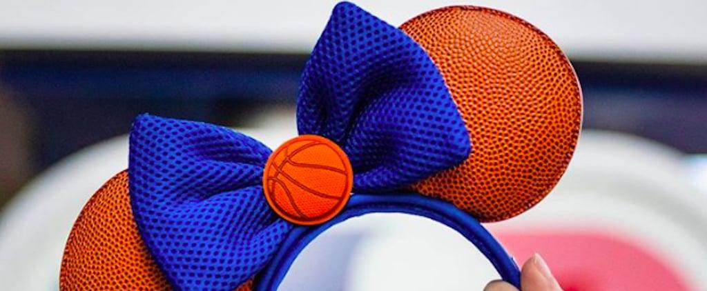 Disney Has New Basketball Minnie Mouse Ears