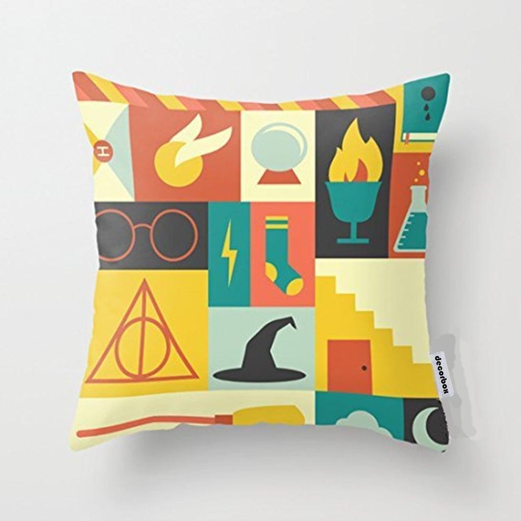 Decorbox Cotton Linen Throw Pillow Cover