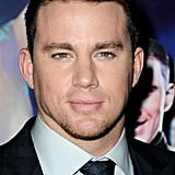 Channing Tatum gave a smile at the Magic Mike premiere in London.