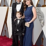 Jacob Tremblay's parents, Jason and Christina, were on hand to support their son at the Oscars.
