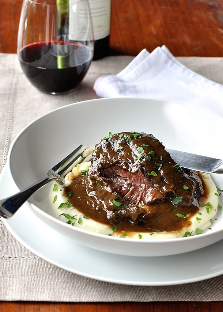 Slow Cooker Red Wine Beef Cheeks Slow Cooker Beef Recipes Popsugar Food Photo 5