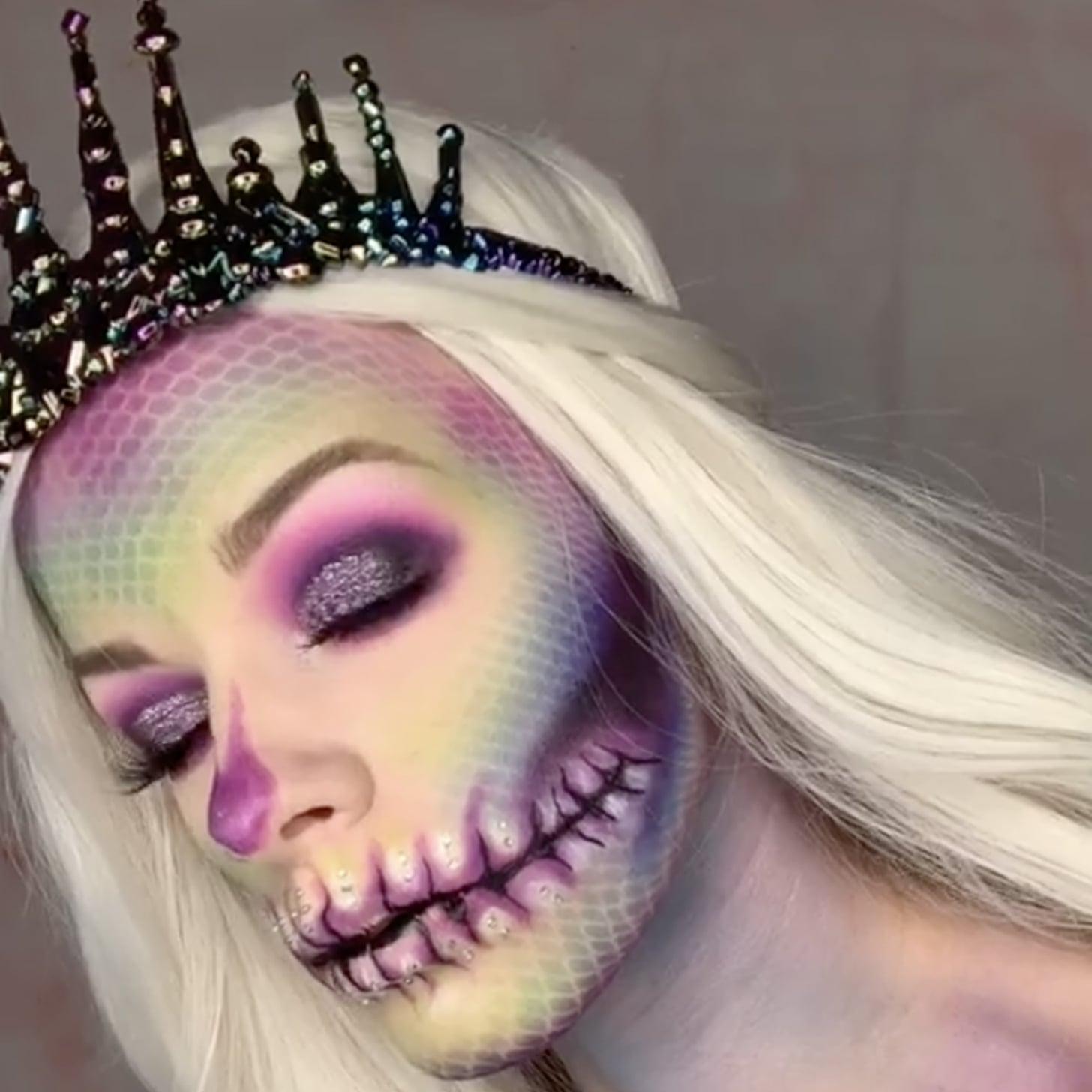 Halloween Makeup Ideas From Tiktok Popsugar Beauty