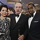 Dawn Laurel-Jones, Tommy Lee Jones, and Sean Combs