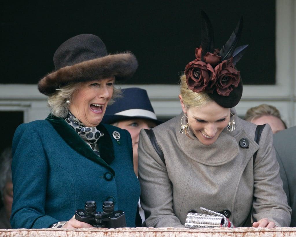 Camilla, Duchess of Cornwall and Zara Tindall