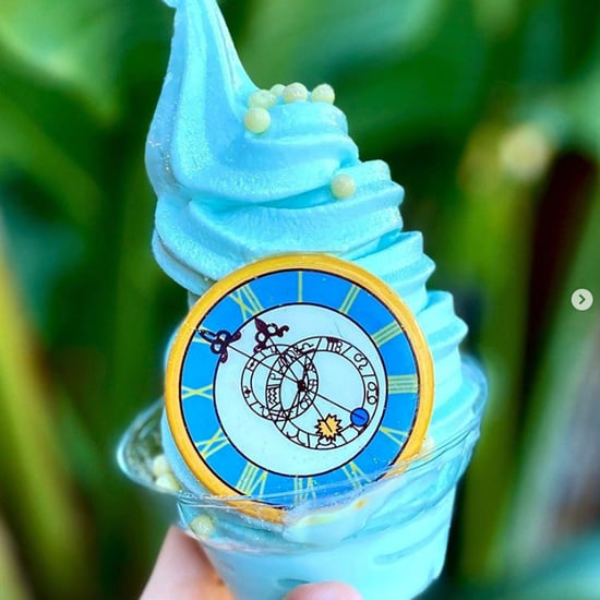 Disney Just Debuted a Cinderella Ice Cream With White Pearls