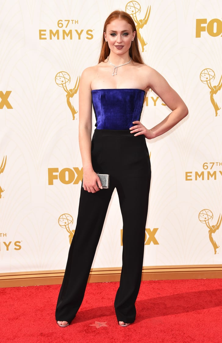 Sophie Turner Game Of Thrones Cast At The Emmy Awards