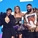 Cardi B, Jennifer Lopez, and DJ Khaled