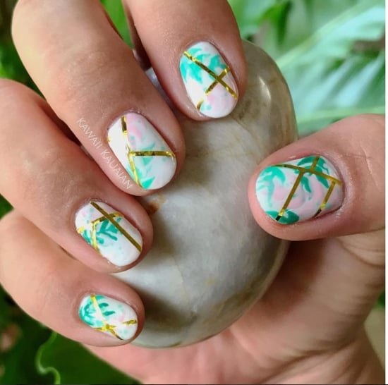 Golden Girls-Inspired Manicure