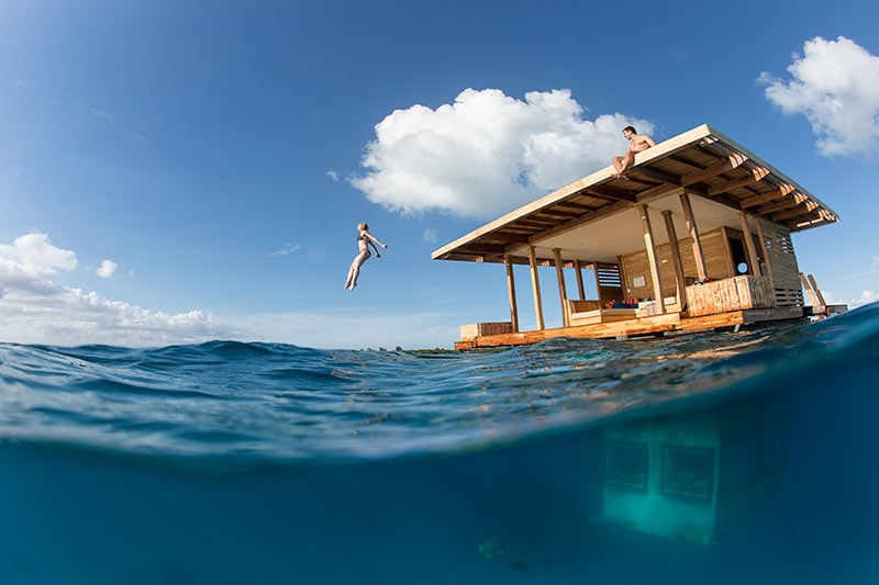 Floating Hotel Part - 19: Floating Hotel With An Underwater Room Is Paradise