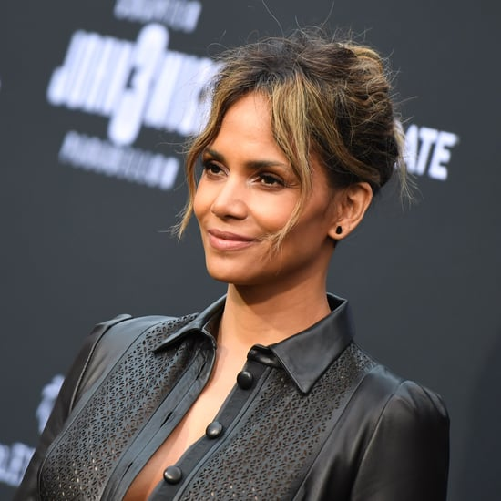 Halle Berry's 5-Minute Isometric Ab Workout