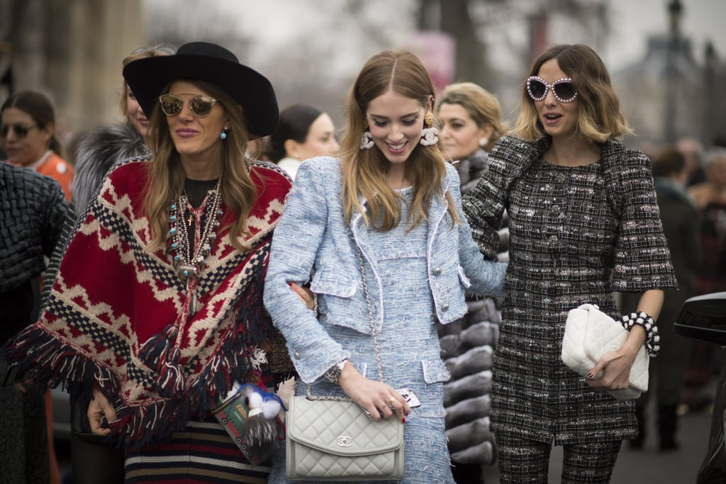 Paris Fashion Week Street Style Fall 2015 Popsugar Fashion