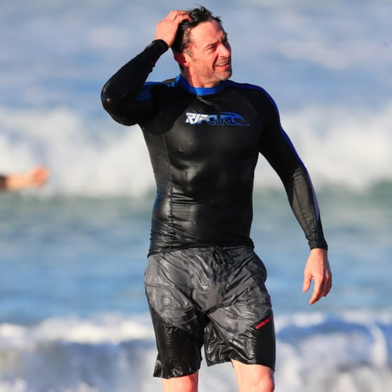 Hugh Jackman Surfing in Australia | Pictures