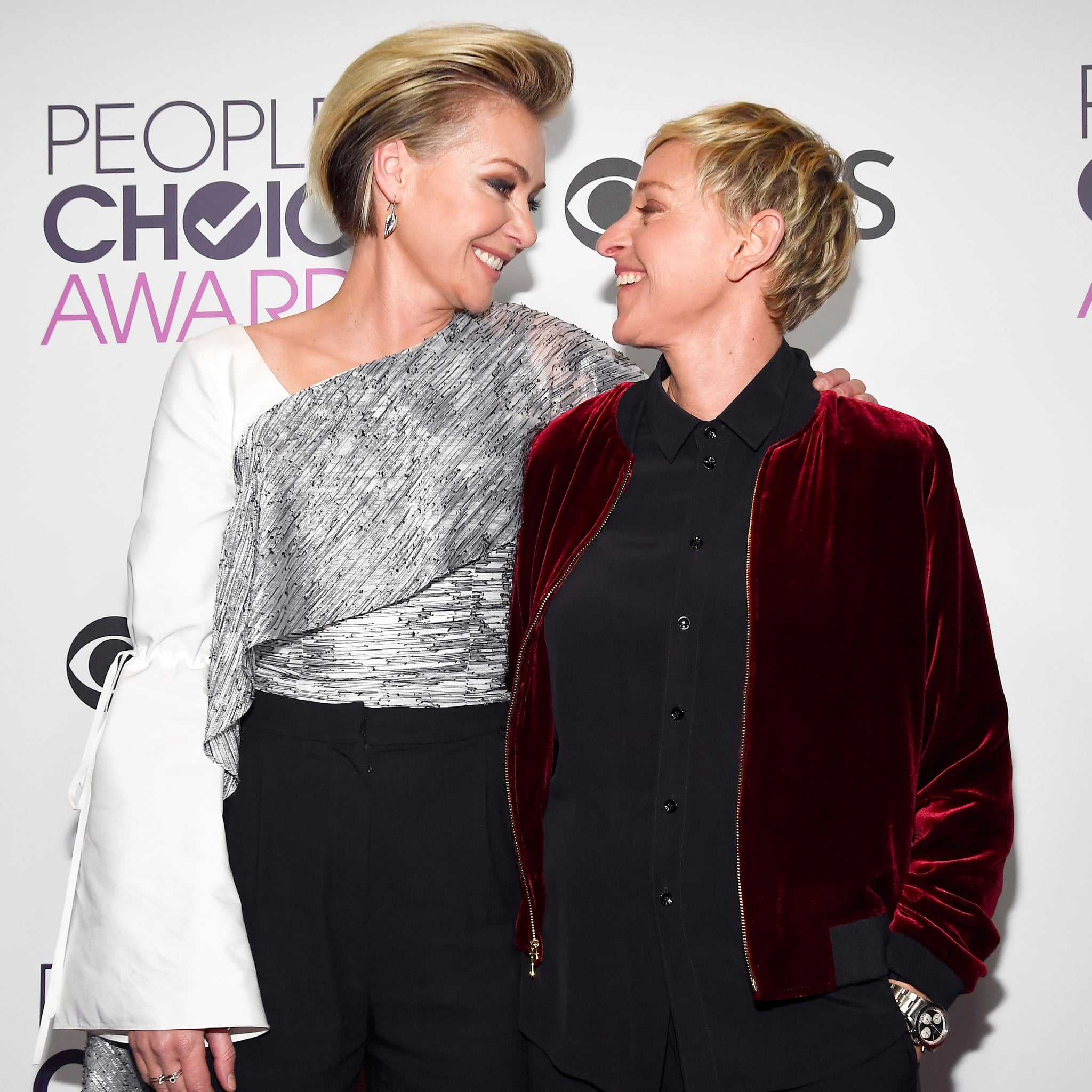 Portia De Rossi And Ellen Degeneres Proposal | www ...