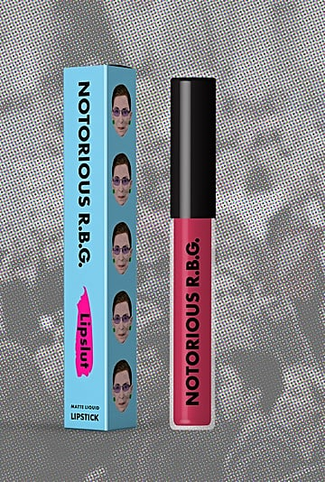 LipSlut Ruth Bader Ginsburg Lipstick