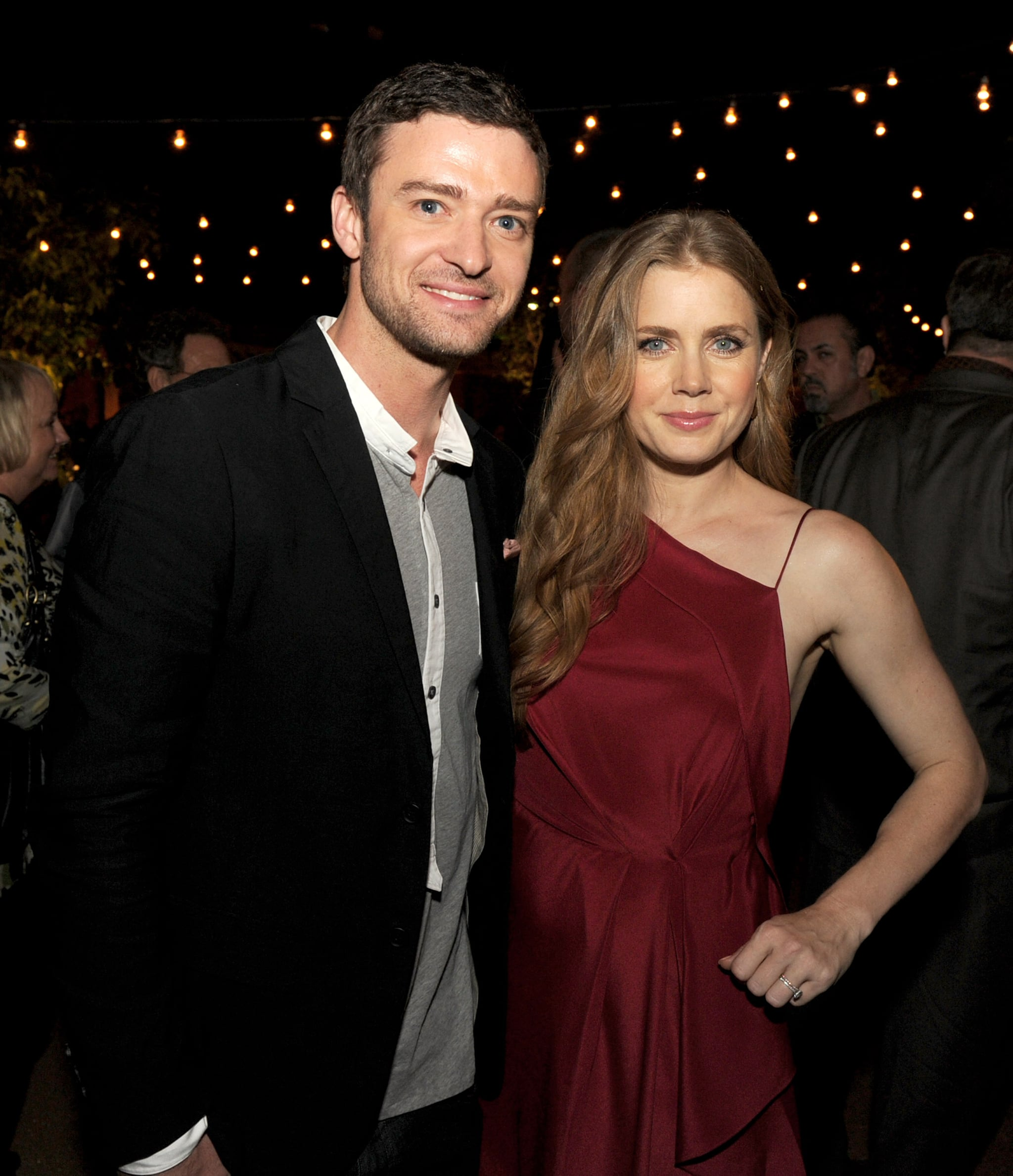 He and Amy Adams posed together at the afterparty for their film, Trouble With the Curve, in September 2012.